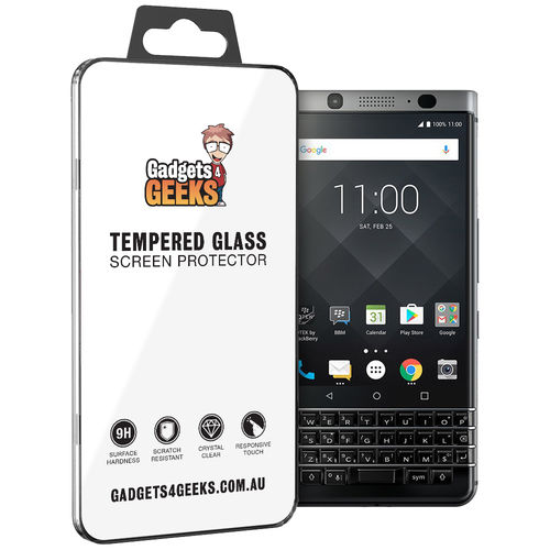 9H Tempered Glass Screen Protector for BlackBerry KEYone